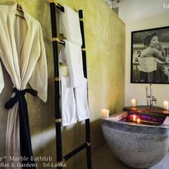 Stone Marble Bathtub - Marble Tub:  Bathroom by Lux4home™ Indonesia