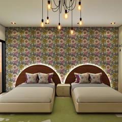 Casa de Campo : Dormitorios infantiles de estilo  por Luis Escobar Interiorismo, Moderno