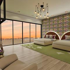 Casa de Campo : Dormitorios infantiles de estilo  por Luis Escobar Interiorismo