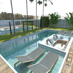 Garden Pool by Eduardo Schmidt Arquitetura e Interiores