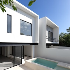 Small houses by studio arquitectura | Despacho de arquitectos | Cancún