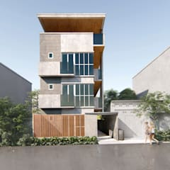 Multi-Family house by Studio Each, Asian