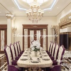 Дизайн дома в классическом стиле в Грозном: Кухни в . Автор – Дизайн-студия элитных интерьеров Анжелики Прудниковой