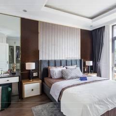 Thiết kế và thi công nội thất biệt thự Tân Cổ Điển sang trọng và đẳng cấp:  Phòng ngủ by ICON INTERIOR