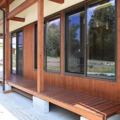ちょうどイイ家: 田村建築設計工房が手掛けたテラス・ベランダです。