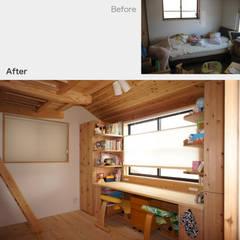 Nursery/kid's room by 一級建築士事務所 ネストデザイン,