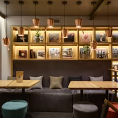 TAKAVA coffee-buffet. Coffee shop interior: Ресторации в . Автор – YUDIN Design