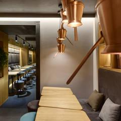 TAKAVA coffee-buffet. Coffee shop interior: Бары и клубы в . Автор – YUDIN Design