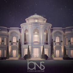 Magnificent Palace Exterior Design:  Houses by IONS DESIGN