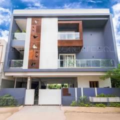 Casas multifamiliares de estilo  por Squares design studio