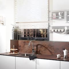 Kitchen units by Glasservice König