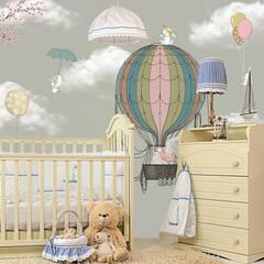 SK Concept Duvar Kağıtları が手掛けた赤ちゃん部屋
