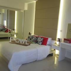 Sudirman Suite Tipe Studio: Kamar Tidur oleh POWL Studio,