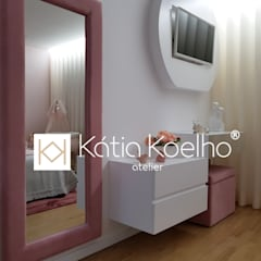 Girls Bedroom by Atelier Kátia Koelho