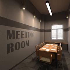 Dem Dizayn – Toplantı Odası:  tarz Çalışma Odası