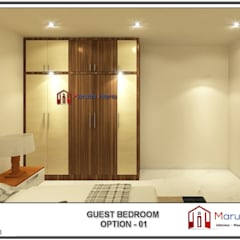 Small bedroom by Maruthi Interio