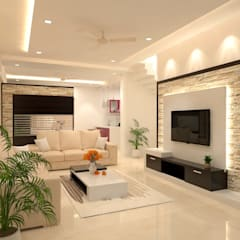 Interior Design of Residential :  Dining room by Maruthi Interio,Classic