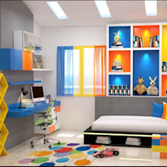 Baby room by Maruthi Interio, Classic