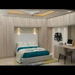 Maruthi Interio의  작은 침실