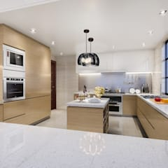 Built-in kitchens by Luxury Solutions, Classic Plywood