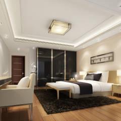 شقق سكنية للبيع:  غرفة نوم تنفيذ Luxury Solutions
