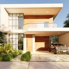 Vortice Arquitetura의  테라스 주택