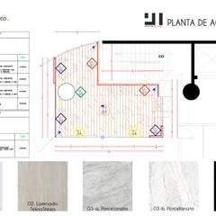 Paleta de acabados: Oficinas y tiendas de estilo  por Prototype studio