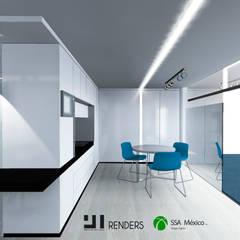 Vista general: Oficinas y tiendas de estilo  por Prototype studio