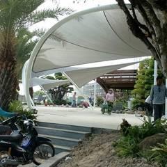 Dự án mái che khu đô thị Phú Cường Rạch Giá Kiên Giang:  Vườn by Công ty TNHH Havico Việt Nam