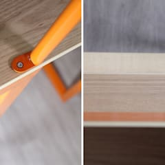 Escalier Mechanical Orange: Escalier de style  par Atelier Concret