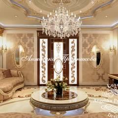 Дизайн дома в классическом стиле в Грозном: Гардеробные в . Автор – Дизайн-студия элитных интерьеров Анжелики Прудниковой