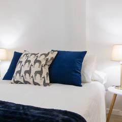 Detalle dormitorio: Dormitorios de estilo  de CASA IMAGEN