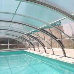 Zadaszenie basenu Gracja Sun: styl , w kategorii Basen zaprojektowany przez GRACJA SP. Z O.O.