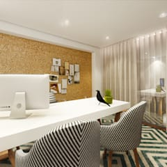 Apartamento, Matosinhos Escritórios modernos por MIA arquitetos Moderno MDF