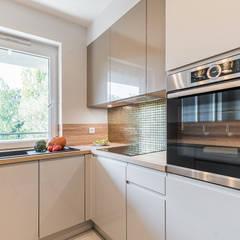 Cozinhas pequenas  por KODO projekty i realizacje wnętrz