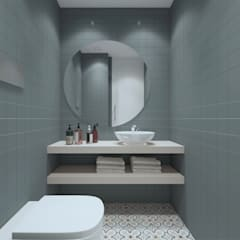 Apartamento, Antas - Porto: Casas de banho  por MIA arquitetos