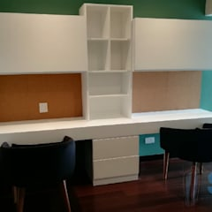 Departamento JESP: Oficinas de estilo  por Soluciones Técnicas y de Arquitectura