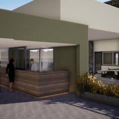 Gustavo Avila, arquitecto의  테라스 주택