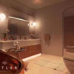 Antler İç Mimarlık – Nevşehir - Konut Projesi:  tarz Banyo