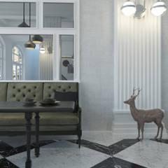 Antler İç Mimarlık – Restaurant de Swan:  tarz Yeme & İçme