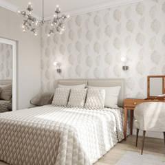 Нежная спальня: Спальни в . Автор – Елена Марченко