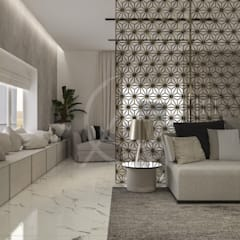 Modern Bedrooms Interior Design:  Bedroom by Comelite Architecture, Structure and Interior Design