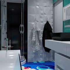 """Britain Pop-Art "" Ж/К ""Статус"". Ванная: Ванные комнаты в . Автор – Perfection A&D"
