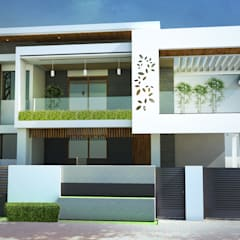 Rumah pedesaan oleh Seventh Sence Architects & interior