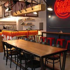 Fast&Good: styl , w kategorii Gastronomia zaprojektowany przez Sklep Steel&Wood