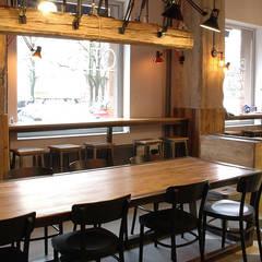 Restauracja Fast&Good: styl , w kategorii Gastronomia zaprojektowany przez Sklep Steel&Wood