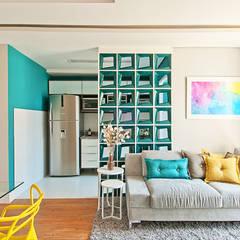 Cobogó Quadrado: Salas de estar  por ONART