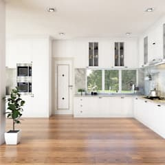 Interior Design Modern Classic:  Dapur built in by PT. Leeyaqat Karya Pratama