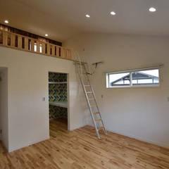 غرفة الملابس تنفيذ Home Plan Kiyotake 一級建築士事務所 ㈱清武建設