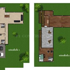 - โครงการก่อสร้าง บ้านสไตล์โมเดิร์น -  :  พื้น โดย บริษัท พี นัมเบอร์วัน ดีไซน์ แอนด์ คอนสตรัคชั่น จำกัด, โมเดิร์น